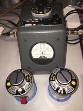 Struthers HF Watt Meter Very Good Condition Slugs 2-30 200-1000 25-250 SWR