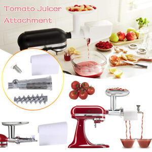 Fruit Vegetable Strainer Tomato Juicer Attachment For KitchenAid Stand Mixer US