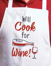 New listing Relatively Funny Apron, Will Cook for Wine!