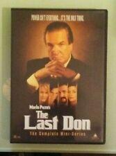 danny aiello  THE LAST DON  the complete miniseries   DVD  genuine region 1