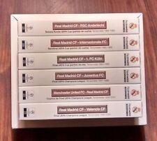 6 partidos imprescindibles del Real Madrid en Europa (pack de 6 VHS)