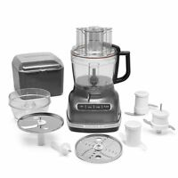 KitchenAid R-KFP1133QG 11C WIDE MOUTH FOOD PROCESSOR W/ LARGE EXACT SYSTEM
