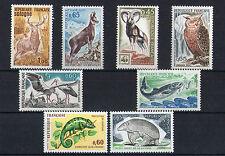 France 8 timbres non oblitérés gomme**  25 Animaux