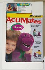 "1998 Microsoft ActiMates 14"" Talking Interactive Barney The Dinosaur BRAND NEW!!"