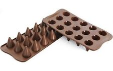 Silicona Silikomart Marrón Chocolate Molde Cono