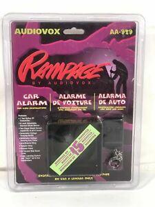 Audiovox Rampage Car Alarm Vintage Model AA-929 Quick Installation Kit