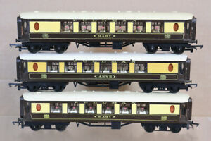 TRIANG HORNBY RAKE of 3 BR PULLMAN 1st CLASS COACH MARY ANNE nx