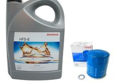 4ltr Genuine HONDA Engine Oil 5W 30 & Honda Filter Petrol Civic (+R) CRV Accord