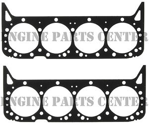 """MAHLE Cylinder Head Gaskets/2 for Chevy 350 5.7 1967-2002 .026"""" comp thick"""