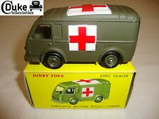 FRENCH DINKY 820/80F RENAULT GOELETTE MILITARY AMBULANCE - NR MINT in orig BOX