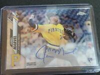 2020 Topps Chrome James Marvel Rookie Auto Autograph RC Pittsburgh Pirates P89