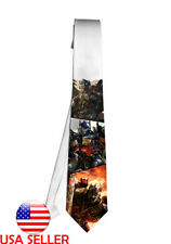 Optimus Prime Transformers Movie Necktie Neck Tie Anime Manga Child Cosplay Gift