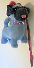 "Groovy Girls Doll Pets plush blue Dog ~4"" long, 2002 Manhattan Toy"