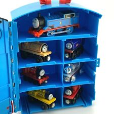 Thomas and Friends Take N Play Train Carry Case Take Along 2008   w/ 7 Trains