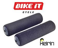 New Black Foam MTB Grips Keirin For 22.2mm Cycling Bars Free P&P