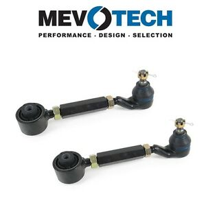 For Honda Pair Set of 2 Rear Upper Control Arms & Ball Joints Mevotech
