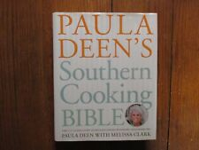 PAULA DEEN/MICHAEL GROOVER Signed Book(SOUTHERN COOKING BIBLE-2011 1st Edit Hard