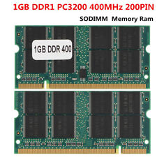 2GB 2G DDR 400Mhz PC3200 200PIN SO-DIMM Laptop Notebook Memory RAM for All CPU S