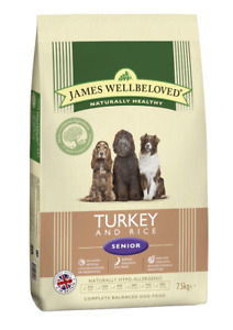 James Wellbeloved Senior Turkey & Rice Dog Food | Dogs