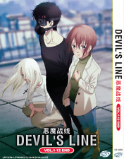 DVD ANIME Devil's Line Vol.1-12 End ~ENGLISH DUBBED~ Region All + FREE DVD