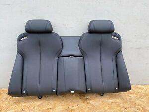 REAR SEAT NAPA LEATHER UPPER CUSHION BLACK BMW 650I 640I M6 F13 (12-18) OEM