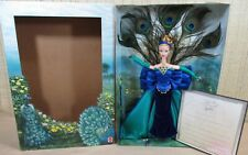 The Peacock Barbie Doll Birds Of Beauty Collection First In Series NEW Box Wears