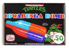 Ninja Turtles Ghiacciolo Calamita Frigo (6.3x8.9cm) Gelato Firmare Fumetto