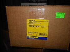 Square D JDA36175 3p 175amp 600v circuit breaker New in box warranty! free ship