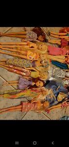 Lotto barbie vintage e winx