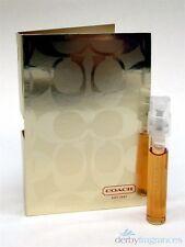 Coach Signature Rose d'Or Eau de Parfum EDP Spray Sample Vial .05 oz 1.5 ml