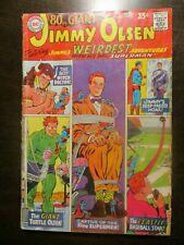SUPERMAN'S PAL JIMMY OLSEN #104 VG VERY GOOD DC COMICS 1967 80 PAGE GIANT