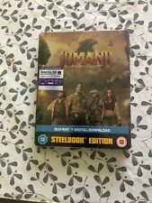 Jumanji - Welcome To The Jungle (Blu-ray, 2018) Steelbook Edition - New/Sealed