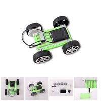 Solar Powered Toy Car Mini Assemble DIY Model Educational Kits For Children Kids