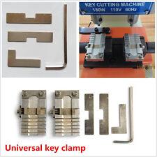 1 Set Metal Car House Keys Clamping Fixture Parts Copy Duplicating Cutting Tool