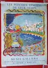 Affiche MOURLOT Les Peintres témoins de leur Temps TERECHKOVITCH Galliera 1970