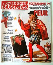 Le Soir illustré du 19/05/1999; Nostradamus 1999/ Poelvoorde/ Bjorn Borg