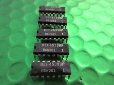 HEF4539BP CMOS INTEGRATED CIRCUIT DIP-16 4539BP UK STOCK **2 PER SALE**