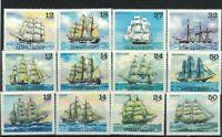 SAM28) Samoa 1979 / 1981 Sailing Ships I, II & III  MUH
