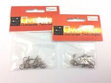 5mm radio control fuel line hose clips - spring clip x 20 clips - rc plane , car
