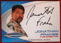 Thunderbirds - JONATHAN FRAKES, (Director) - Autograph Card AC1 - Cards Inc 2004