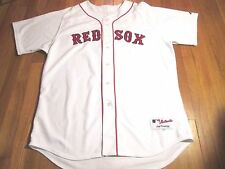 N0WT VINTAGE MAJESTIC AUTHENTIC MLB BOSTON RED SOX NOMAR GARCIAPARRA JERSEY 52