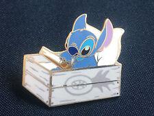 Disney Stitch Sundays Stitch in a Pineapple Box Pin