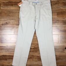 Mens Dockers 38x32 signature khaki slim fit stretch wrinkle free
