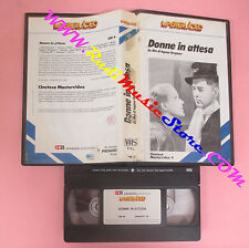 VHS film DONNE IN ATTESA 1985 Ingmar Bergman MASTERVIDEO SAMPAOLO (F42) no dvd