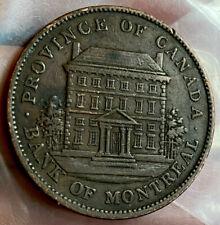 Canada 1 Penny Token 1842 EF