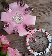 PERSONALIZZATO BELLISSIMO Carrozzina fascino in rosa confetto per bebè ragazzi