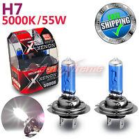 MICHIBA H7 55W 5000K Xenon SUPER WHITE Vision Halogen Light Bulbs High Beam 2PCS