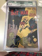 Batman 41 CGC 3.5 First Sci-Fi Cover 1947 Cover