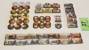A Game of Thrones The Board Game *TOKENS SET* 53 2nd Edition