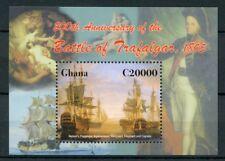 Ghana 2006 MNH Battle of Trafalgar 200th Nelson Ships Agamemnon 1v S/S Stamps